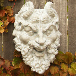 Image Is Loading Horned Pan Greek God Garden Wall Art Decor