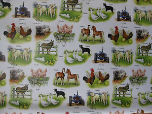 FARM-FARMING-GIFT-WRAP-WRAPPING-PAPER