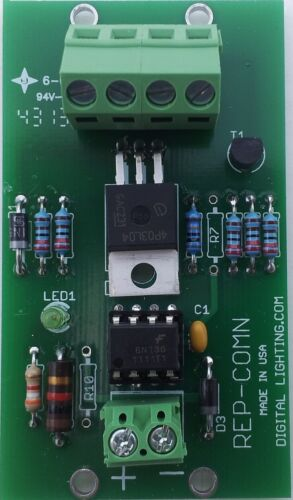 Booster Polarity changer to Common Negative for PWM LED dimmers; 10 A  8-16 VDC