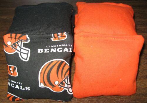 8 Mini Corn Toss Game World Bean Bags Cornhole Cincinnati Bengals DURABLE