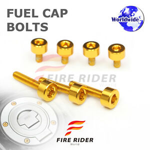 FRW-Gold-Fuel-Cap-Bolts-Set-For-Honda-CB-900-F-Hornet-01-07-02-03-04-05-06-07