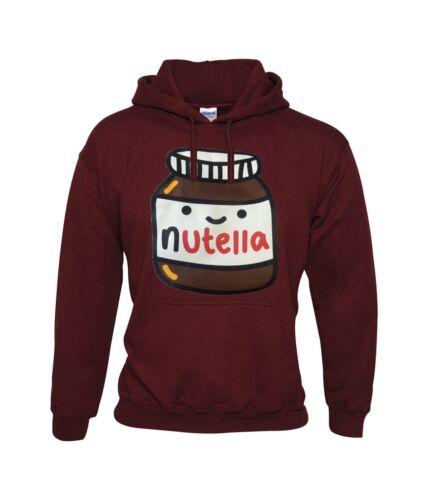 "Nutella Chocolate Hazelnut Spread Funny Unisex Hoodie /""Best Quality/"""