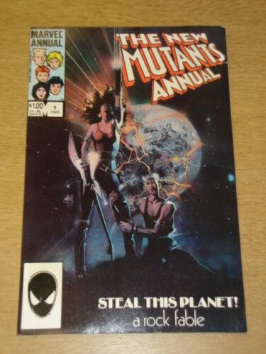 NEW MUTANTS ANNUAL #1 FINE OR BETTER MARVEL COMICS 1984 CHRIS CLAREMONT/< X