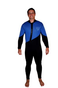5mm Farmer John 2 Piece Wetsuit - gold Mining - Cold Water Suit - XL - 4050