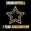 CRUNCHYROLL-ACCOUNT-PREMIUM-1-YEAR-WARRANTY miniatura 1