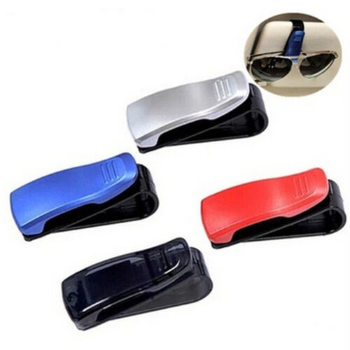 Fashion Car Vehicle Sun Visor Sunglasses Eye Glasses Card Pen Holder Clip BRIC