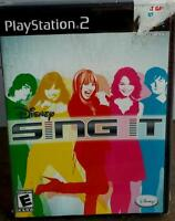 Disney Sing It (game Only) (sony Playstation 2, 2008) Brand New, Fun Game