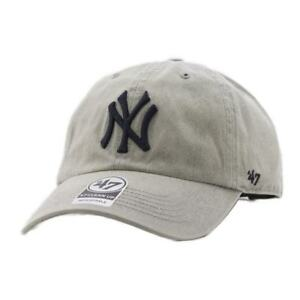 3bbc757b42240 Cap 47 Brand Mlb New York Yankees Clean Up Curved V Relax Fit Cement ...