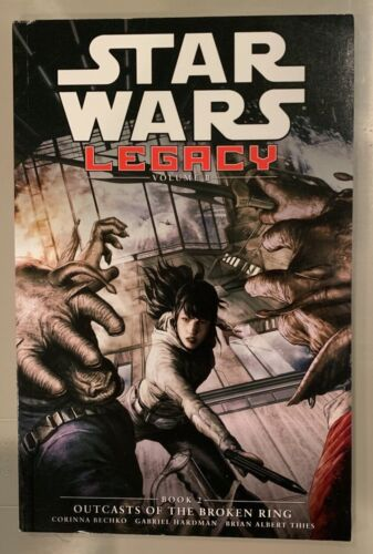 Dark Horse Star Wars Legacy Vol 2 Outcasts of the Broken Ring TPB Book 2