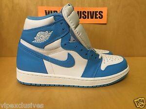 91f7aa46235d68 Nike Air Jordan 1 Retro High OG UNC Carolina Powder Blue 555088-117 ...