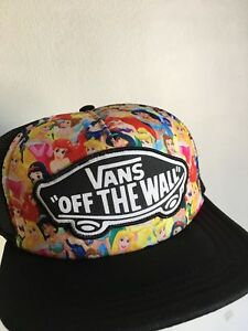 Image is loading Vans-Disney-Princess-Trucker-Hat-Snapback-NWT 2107c84b7be
