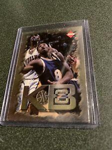 1998 Collector's Edge Impulse KB8 Holofoil Lakers Basketball Card #3 Kobe Bryant