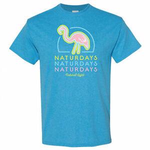 Naturdays Flamingo Sapphire Colorway T-Shirt Blue