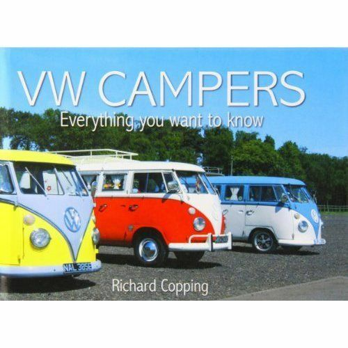"""1 of 1 - """"VERY GOOD"""" VW Campers, Salmon, J. H. M., Book"""