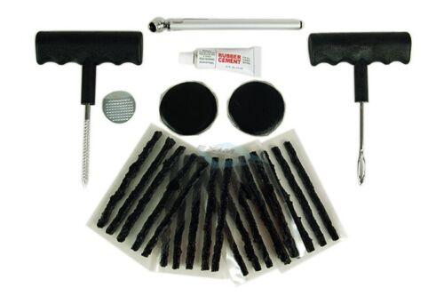 Reifenreparatur Satz Nachfüllstreifen Reifen Reparatur Werkzeug im Koffer 28tlg.