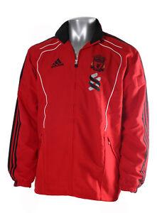 La imagen se está cargando Liverpool-LFC-Chandal-Chaqueta-Superior-Superior- Retro-Adidas- d4ed67f2bb5eb