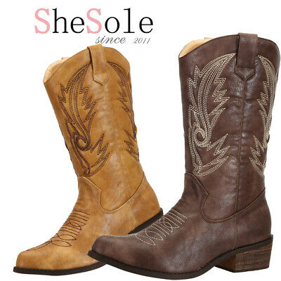 SheSole Womens Ladies Cowgirl Cowboy