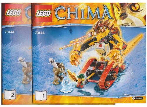 LEGO Bau- & Konstruktionsspielzeug Baukästen & Konstruktion Lego Neu Anleitung Manuel nur für Set 70144 Laval's Feuer Löwe Buch