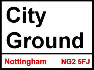 Nottingham Forest fc City Ground Street Sign 2 Sizes Available football ground WeboAcxQ-09113001-454516075