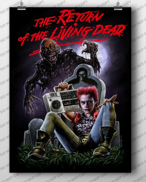 HORROR CLASSIC 52578 MOVIE POSTER 24x36 RETURN OF THE LIVING DEAD