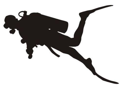 scubadiving diving Spearfishing decal wetsuit neoprene freediving sticker new