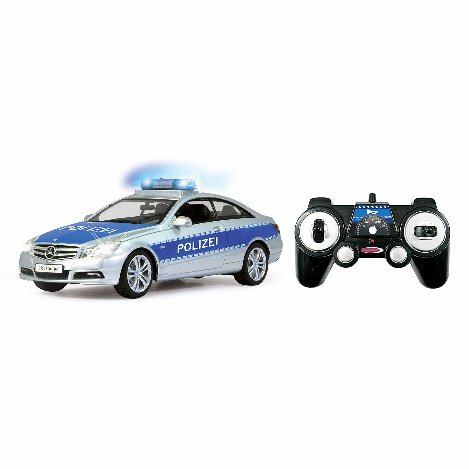 Jamara Mercedes E350 Coupe 1:16  Polizei 410023