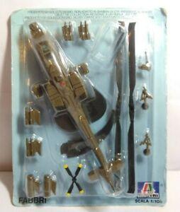 Ge-FABBRI-colado-1-100-escala-US-Army-Apache-helicoptero-Embalaje-original-burbujas-Pack