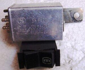 Relais-temporizzatore-lunotto-riscaldabile-Mercedes-W108-W109-W116-C107
