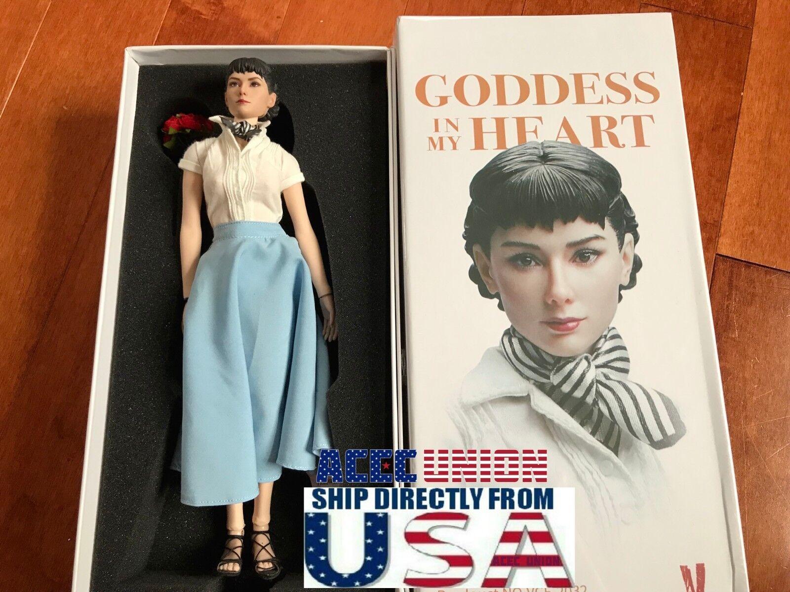 1 6 Audrey Hepburn Roman Holiday Female Figure Premium Full Set USA IN STOCK