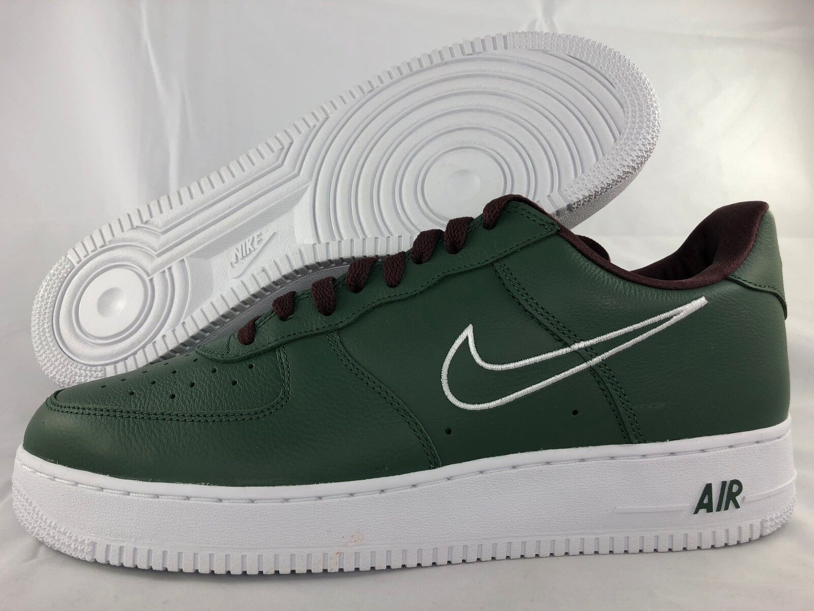 Nike Air Force Force Air 1 Low Retro Hong Kong Forest Green White 845053-300 Mens 8-14 NEW a6ac05
