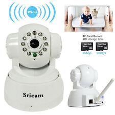 720P HD Wireless Network Pan/Tilt IP Security Camera P2P WiFi IR Night Vision