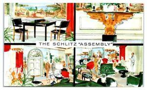 1956-The-Schlitz-Assembly-Milwaukee-WI-Postcard-218