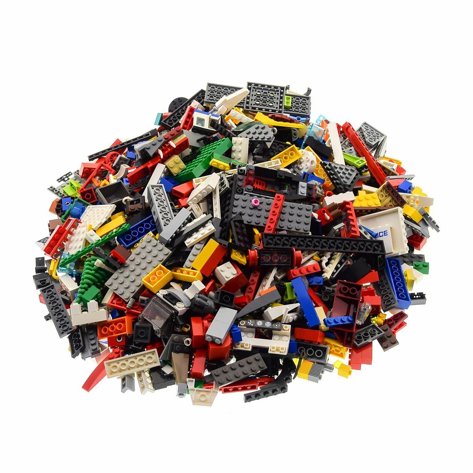 2 kg Lego Système construction Basic Basic Basic pierres avec spécial pièces kiloware par hasard mélangé 5758b7