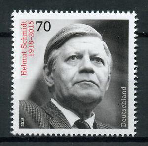 Germany-2018-MNH-Helmut-Schmidt-Chancellor-1v-Set-Politicians-People-Stamps