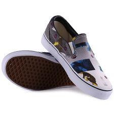 Tenis Vans clásicas Resbalón en Zapatillas para mujer multicolor NUEVO ZAPATOS TALLA 4 UK 36.5 EU