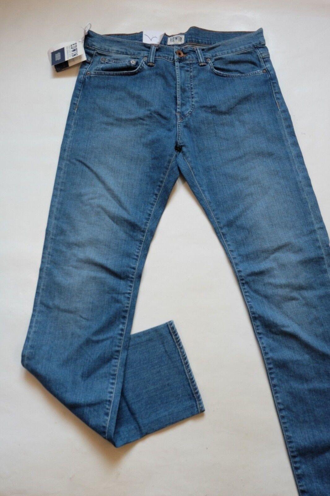 JEANS EDWIN MAN ED 80 SLIM (cs night -bluee soft used) W34 L32 VAL