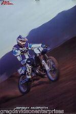 No Fear 24x36 Jeremy McGrath Poster Motocross / Supercross