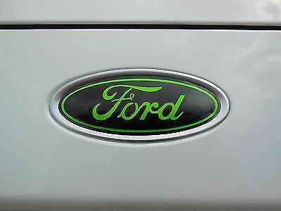 DECAL OVERLAYS Fits 16 17 FORD EXPLORER Front /& rear oval emblem STICKER