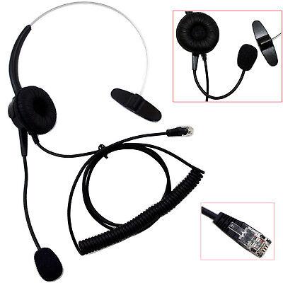 New T400 Headset Headphone For Aastra 2465 2564 57i 57iCT 6753i 6755i 6757i