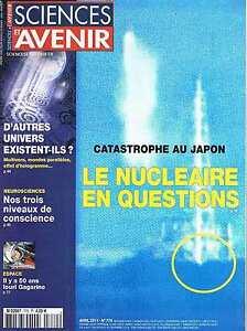 Sciences Et Avenir N°770 Nucleire En Question D'autres Univers Existent-ils Io