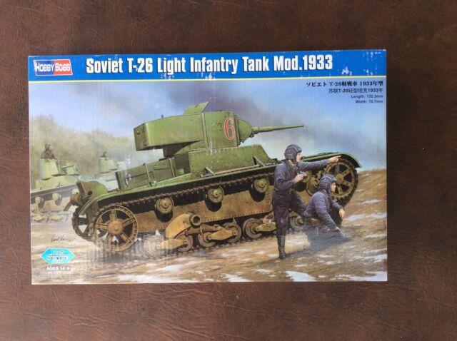 Hobby Boss Soviet T-26 Light Infantry Tank Mod 1933 1/35 82495
