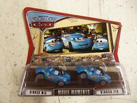 Disney Pixar Cars Dinoco Mia & Dinoco Tia (movie Moments) Genuine P152-a8