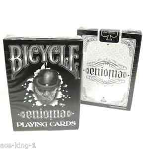 1-deck-BICYCLE-ENIGMA-PLAYING-CARDS-poker-magic