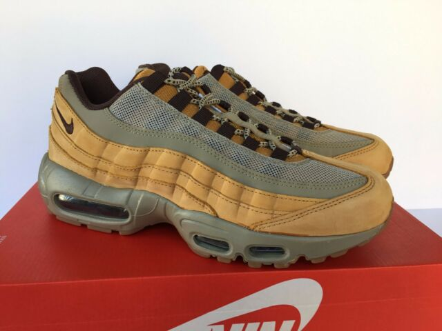 cozy fresh san francisco sneakers Nike Air Max 95 Winter Premium Wheat Bronze-baroque Womens 880303-700 Sz 9.5