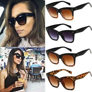 74fa450ab5 Image is loading Stylish-Cat-Eye-Women-Sunglasses-Female-Gradient-Points-