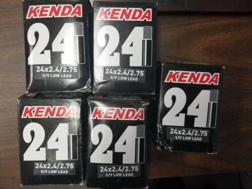 """Kenda 24 x 2.75-3/"""" Schrader Valve Tubes"""
