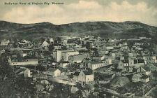 Viginia City,Montana,Bird's Eye View,Mining Town,Madison County,c.1909