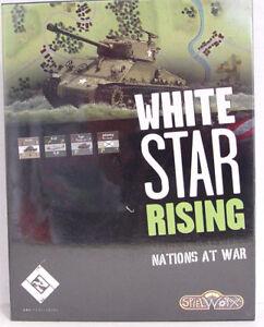 White Star Nations montantes en guerre, limite.   Version franco-allemande, nouvelle rare