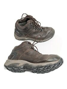 New Balance 978 Mens US 10 EUR 44 Brown Leather Goretex Hiking Boots