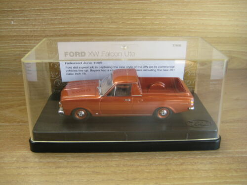 TRAX MODEL TR66 FORD XW Falcon Ute Lustre Bronze Deceased Estate